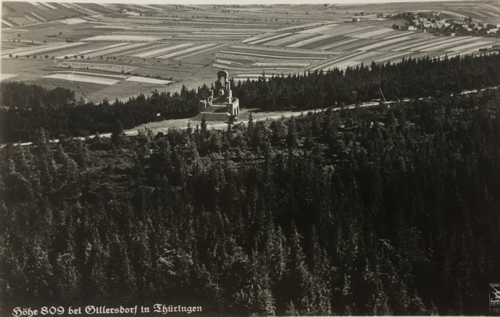 Langer Berg mit Gillersdorf.